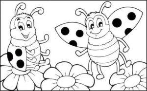 uğur böceği boyama