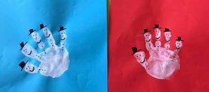 el-baski-ile-kardan-adam-yapimi