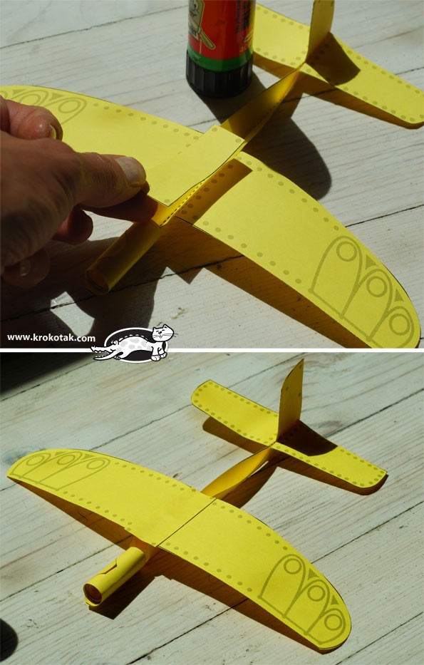 karton uçak yapılışı