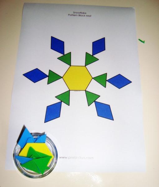 kar tanesi_tangram