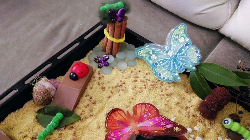 montessori kelebek duyusalı