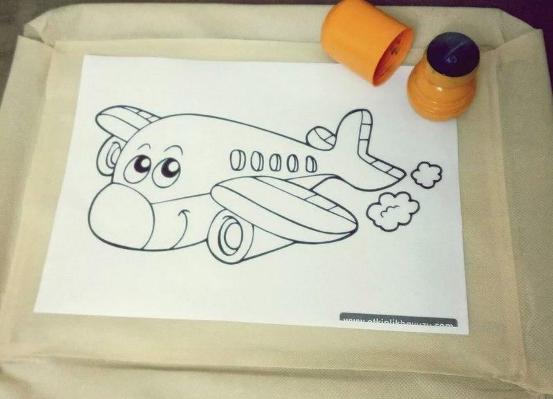 uçak boyama etkinliği
