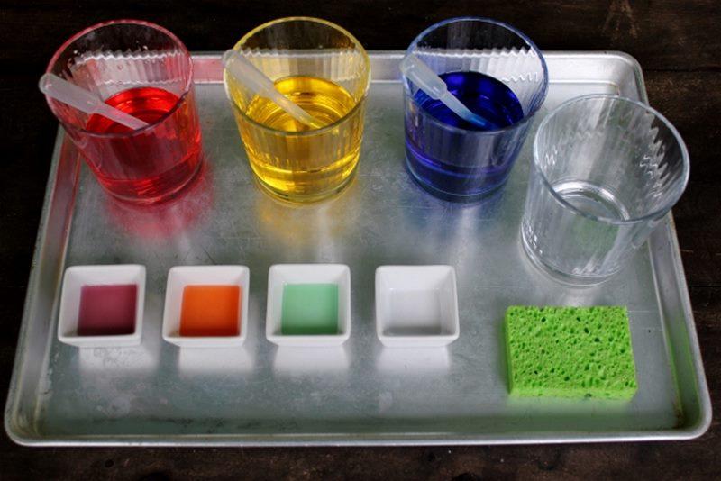 renkler karıştırma