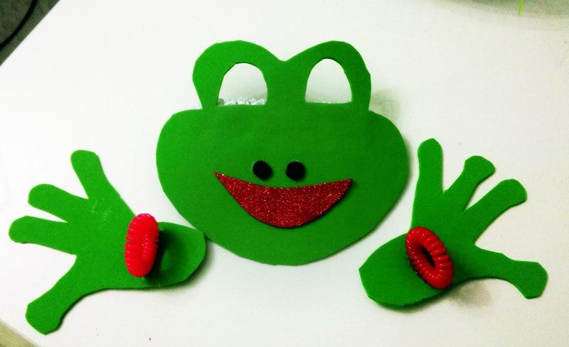 Kurbaga Maskesi Yapimi Evde Eglenceli Etkinlikler