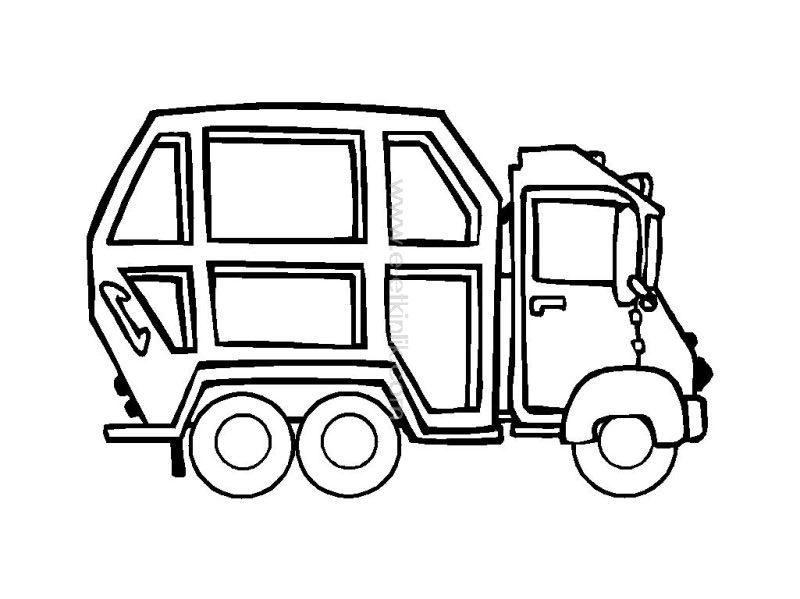 çöp Kamyonu Sanat Etkinlikleri Ana Sınıfı Etkinlikleri Evimin