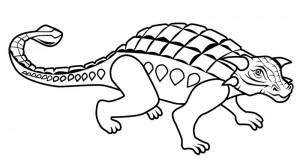 Ankylosaurus-Coloring-Page (Kopyala)