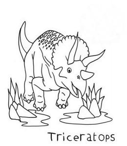 Baby-Triceratops-in-Cartoon-in-Dinosaur-Coloring-Page (Kopyala)
