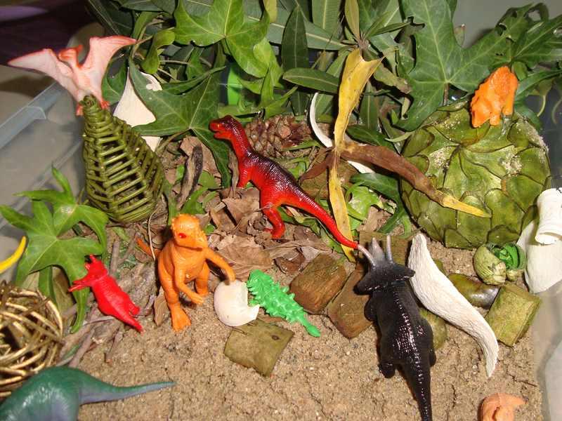 montessori dinozor duyusalımız