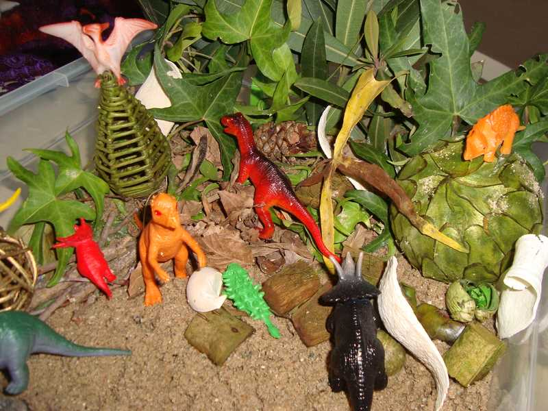 dinozor duyusalı etkinliği