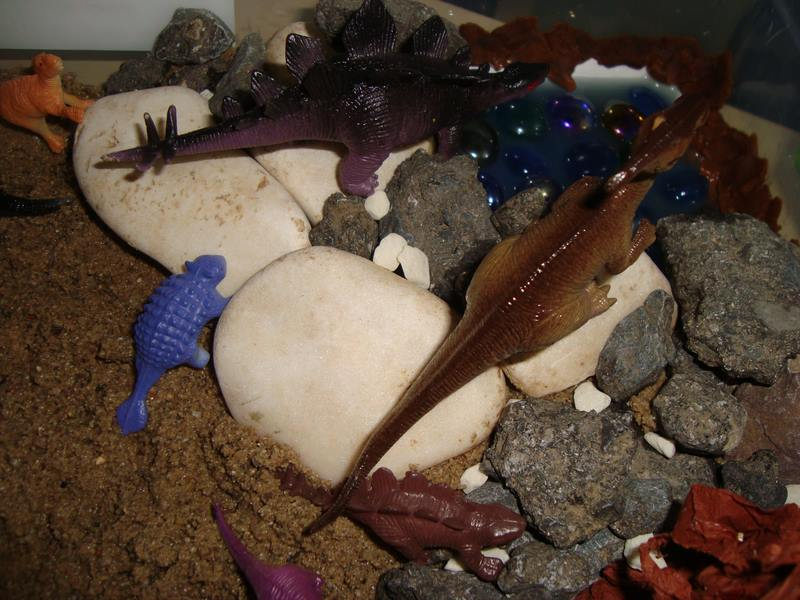 evde dinozor duyusalı