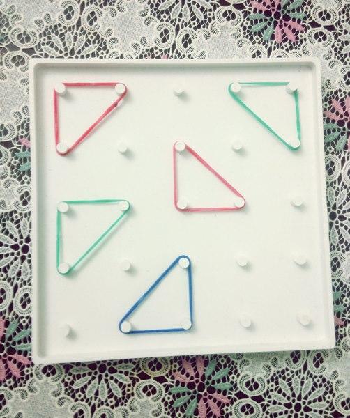 geometrik tablo etkinliği