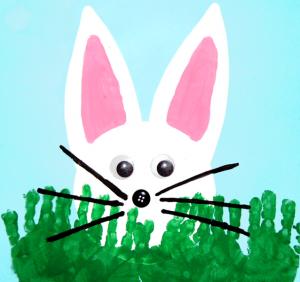 Peeking-Bunny-with-Handprint-Grass-Easter-Craft-for-Kids (Kopyala)