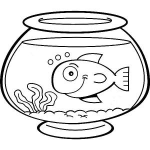 Smiling-Fish-in-Fish-Bowl-Coloring-Page (Kopyala)