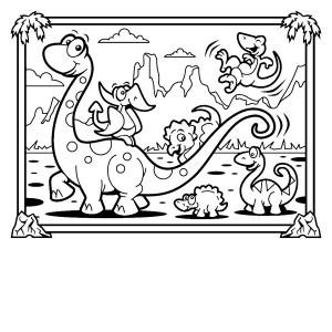dinosaur-coloring-pages-t-rex (Kopyala)