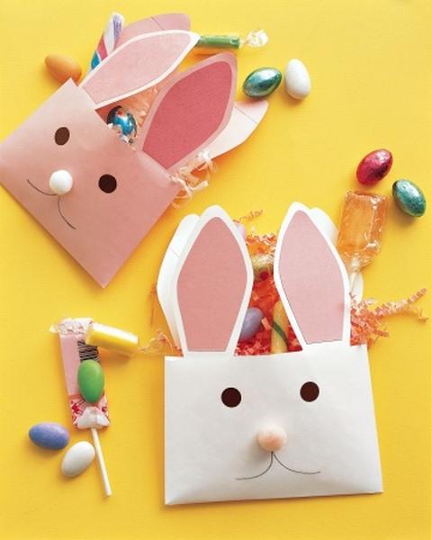fon kartonundan_tavşan_zarfı
