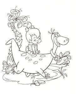 flintstones-coloring-pages-free-printable-kids-art-pictures-girl-baby-dinosaur1 (Kopyala)