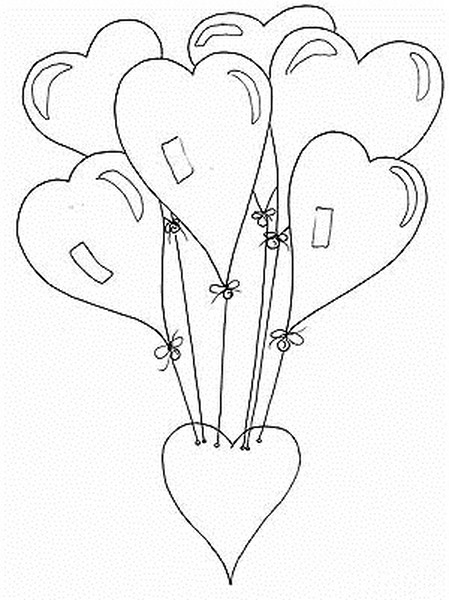 Kalp Boyama Sayfaları En Güzel Kalp Boyama Sayfaları Evimin Altın Topu