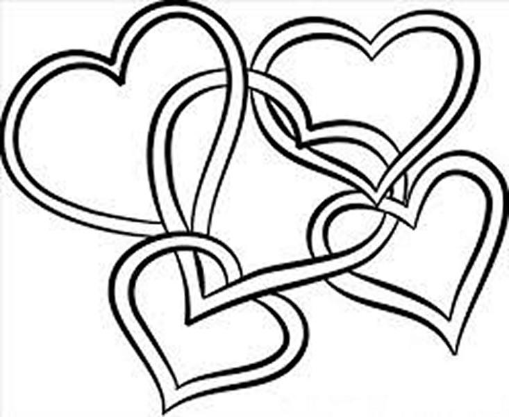 Kalp Boyama Sayfaları En G 252 Zel Kalp Boyama Sayfaları