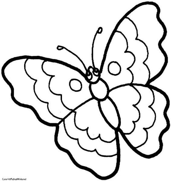 Kelebek Boyama Sayfaları Evimin Altın Topu