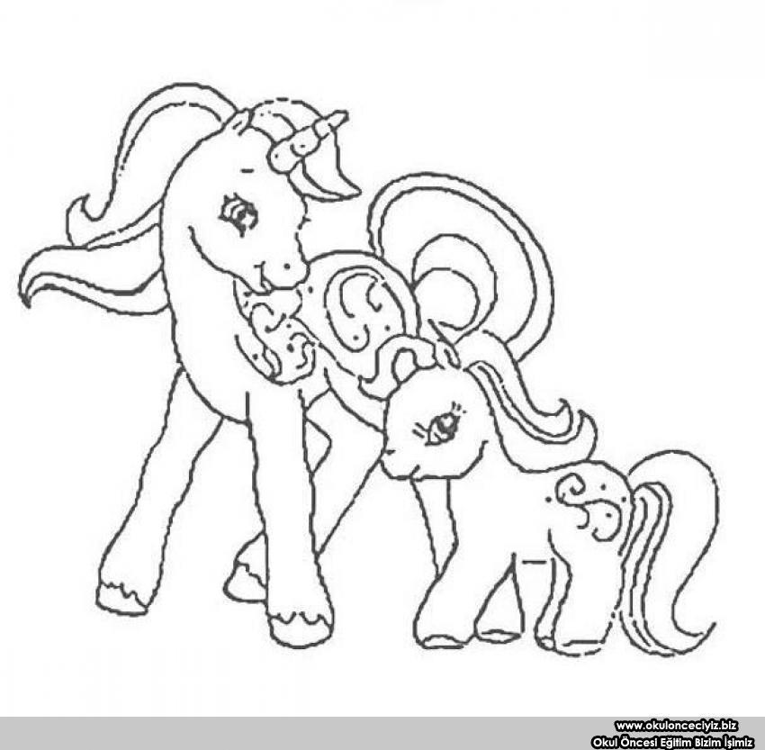My Little Pony Boyama Sayfalar