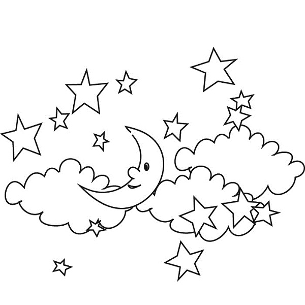 printable sky coloring pages - photo#23
