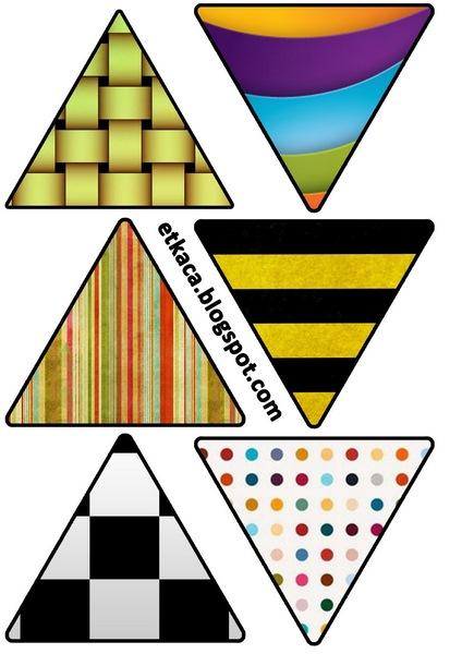 üçgen kartları anasınıfı