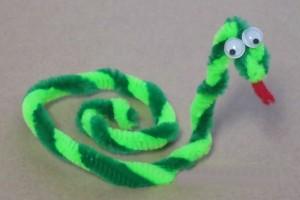 şönilden_yılan_nasıl_yapılır