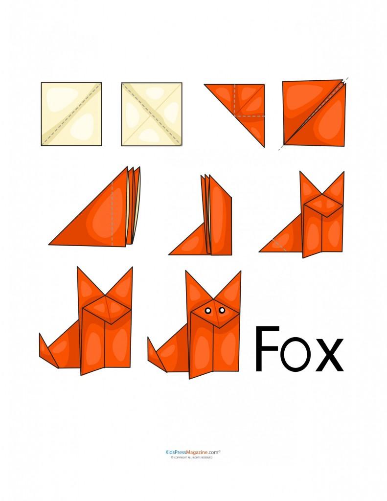 çocuklar için origami örnekleri