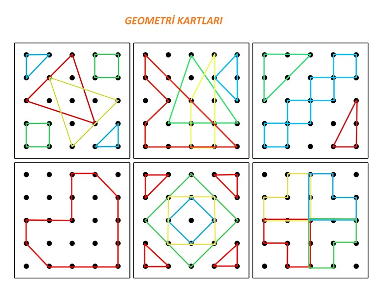 Photo of Geometrik Tabla Kartları