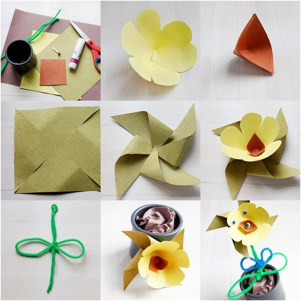 kağıttan_çiçek_yapımı_okul_öncesi_anneler_günü
