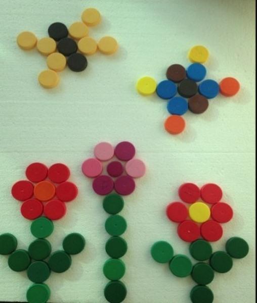kapaklardan_çiçek_yapımı