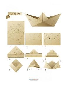 kolay_origami_şapka