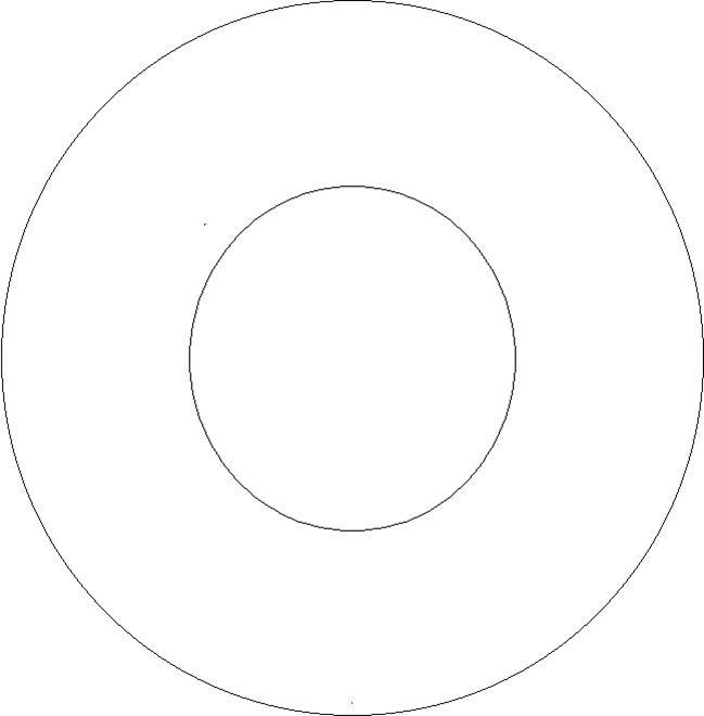 mandala boş şablon