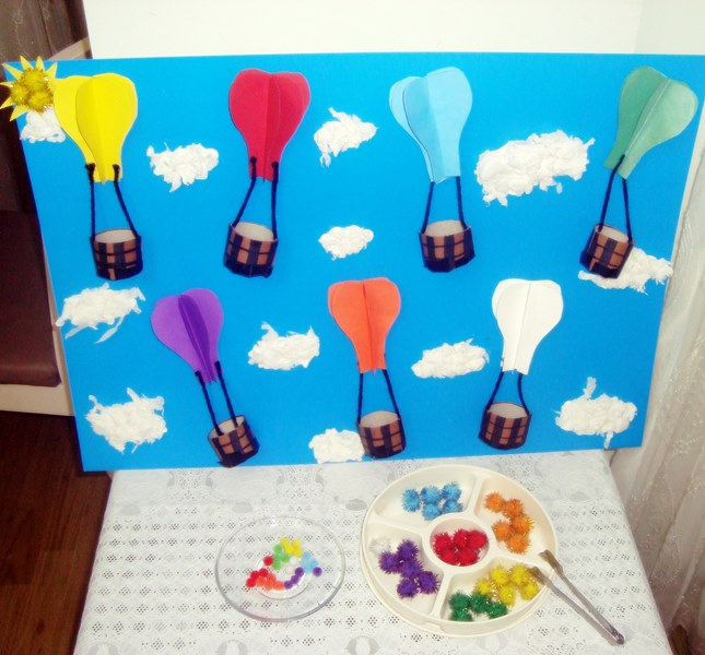 Uçan Balonlar Ile Renkler Pekiştirme Renk öğretim çalışmaları