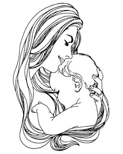 Photo of Anneler Günü Boyama Sayfaları