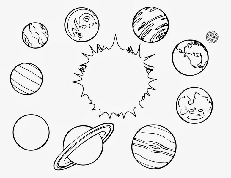 Uzay Temalı Boyama Sayfaları En Güzel Uzay Boyamaları Evimin Altın