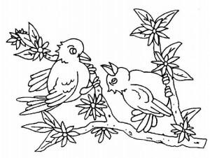 okul_öncesi_hoş_kuş_boyama_sayfaları