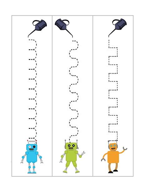 Robot Etkinlik Sayfaları Evimin Altın Topu
