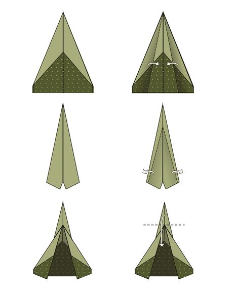 origami_uçak_yapımı_2