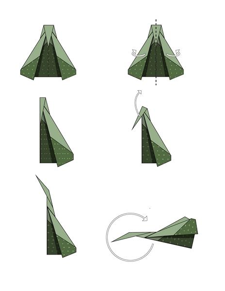 Origami Uçak Yapımı En Iyi Uçak Nasıl Yapılır Evimin Altın Topu