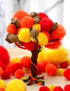 ponpondan_ağaç_yapımı