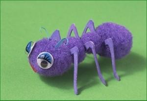 ponpondan_karınca_yapımı