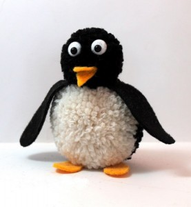 ponpondan_penguen_yapımı