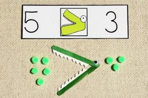 ponponlar_ile_büyük_küçük_sayı