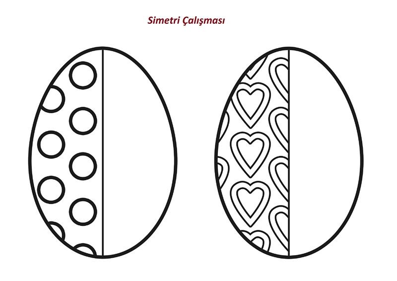 Simetri Boyama örnekleri Gazetesujin