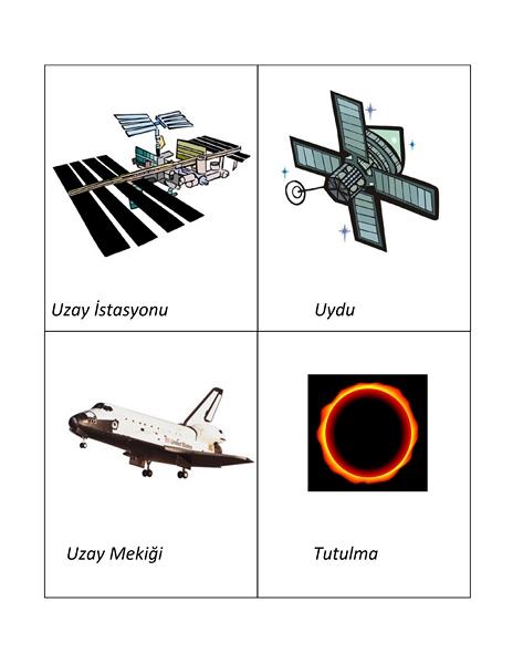 uzay_kelime_kartları