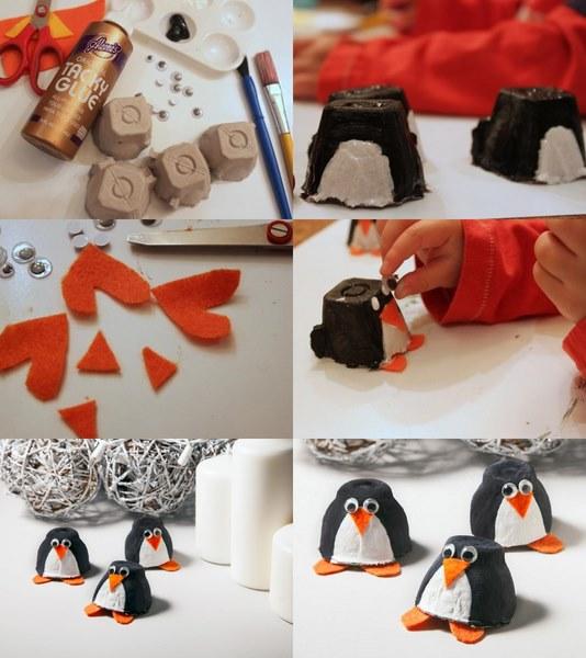yumurta_kabından_penguen_yapımı