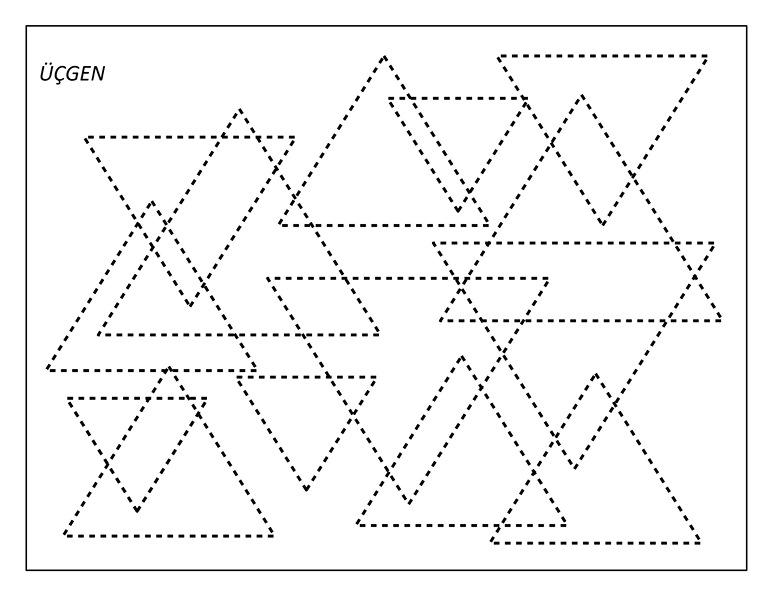 Geometrik şekiller Etkinlikleri Okul öncesi şekil öğretimi Evimin