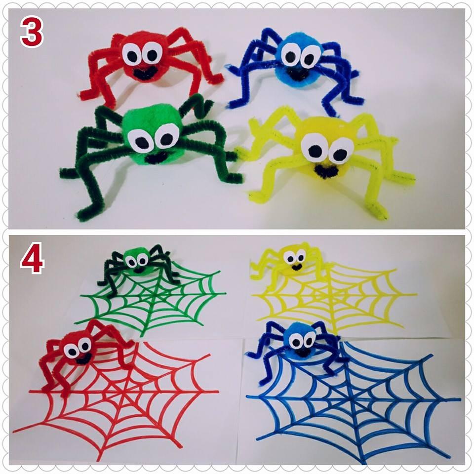 şönilden_örümcek_yapımı