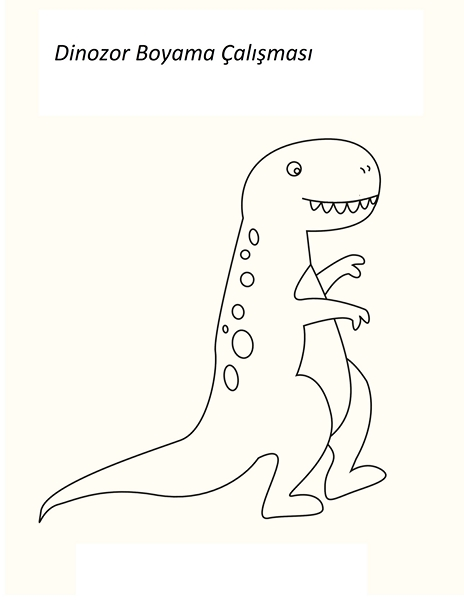 Dinozor Etkinlik Sayfalari Okul Oncesi Dinozor Etkinlikleri